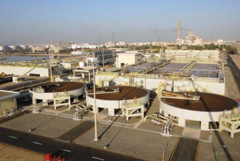 محطة معالجة الصرف الصناعي، ينبع