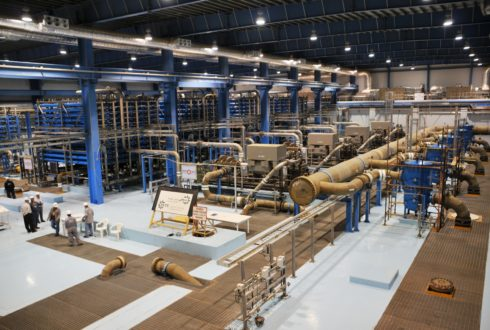 Seawater Desalination Plant, KAUST