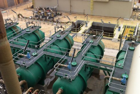 Industrial Wastewater Treatment Plant , IWTP-8, Jubail