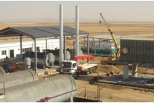Seawater Desalination Plant, Radwa
